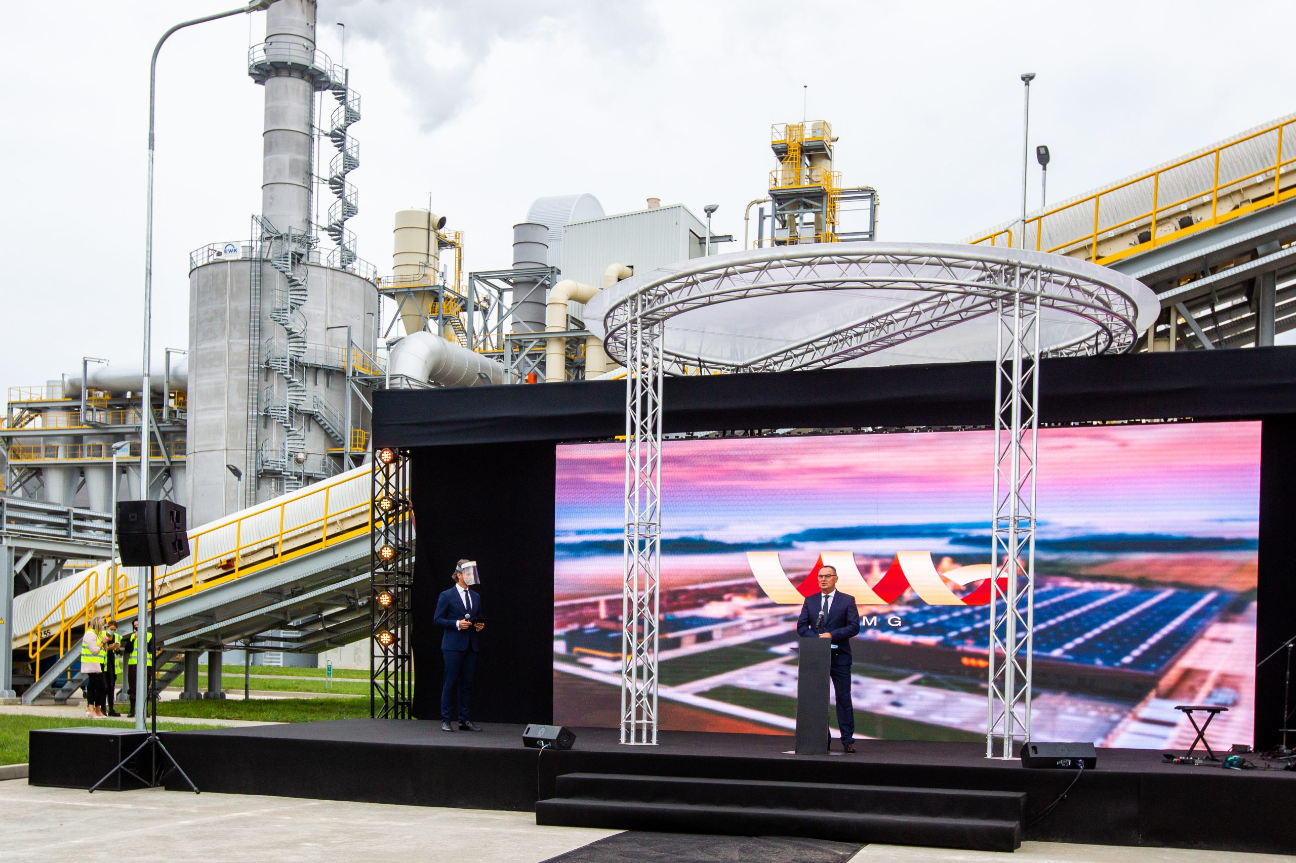 Milestone for Klaipedos Mediena (VMG): Grand opening of benchmark plant in Lithuania